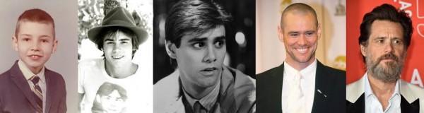 Jim Carrey gençlikten bugüne