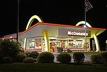McDonald's'ın ilk restoranlarından biri