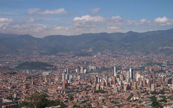 Medellin manzarası